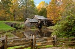 Mulino-autunno di Mabry Fotografie Stock