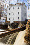 Mulino a cilindri di Mansfield Fotografia Stock
