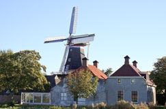 Mulino De Jonge Hendrik, Den Andel, Olanda di Groninger immagine stock libera da diritti