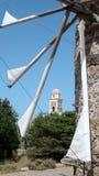 Mulino del Cretan Fotografia Stock Libera da Diritti