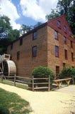 Mulino del grano da macinare di funzionamento di Colvin, Fairfax, VA Immagini Stock