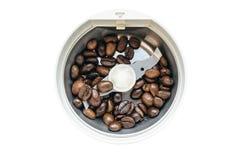 Mulino di caffè elettrico Fotografie Stock Libere da Diritti