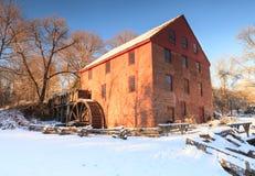 Mulino di funzionamento di Colvin, Great Falls, la Virginia Fotografie Stock