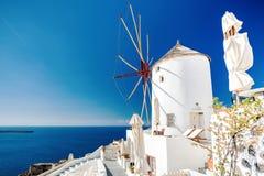 Mulino di vento classico Fotografia Stock Libera da Diritti
