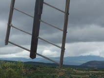 Mulino di vento della Provenza Fotografie Stock Libere da Diritti
