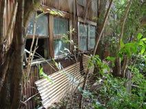 Mulino di zucchero abbandonato in Hawai Immagine Stock Libera da Diritti