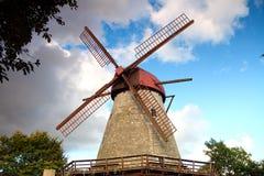 Mulino sull'isola di Saaremaa Immagine Stock