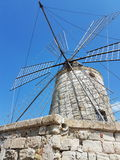 Mulino un vento fotografía de archivo