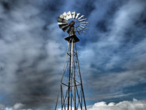 Mulino a vento Fotografia Stock
