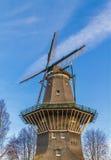 Mulino a vento a Amsterdam immagine stock libera da diritti