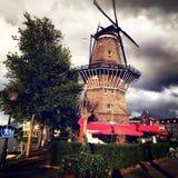 Mulino a vento Antivari immagini stock libere da diritti