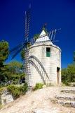 Mulino a vento in Barbentane immagini stock libere da diritti