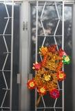 Mulino a vento cinese Fotografia Stock Libera da Diritti