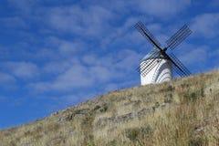 Mulino a vento, Consuegra spagna fotografia stock libera da diritti