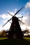 Mulino a vento a Copenhaghen Fotografia Stock Libera da Diritti