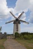 Mulino a vento degli Skerries Fotografie Stock