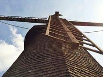 Mulino a vento del Capo Cod Fotografie Stock Libere da Diritti