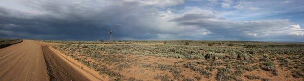 Mulino a vento del Chaco Immagini Stock