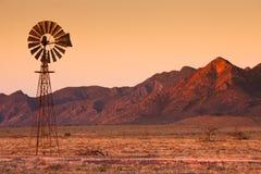 Mulino a vento del Flinders Fotografia Stock Libera da Diritti