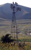 Mulino a vento del paese Fotografie Stock Libere da Diritti