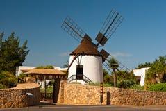 Mulino a vento dell'Antigua Fotografia Stock