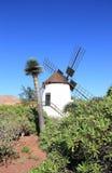 Mulino a vento dell'Antigua (Molino de Antigua). Fuerteventura, isole Canarie, Spagna. Immagine Stock
