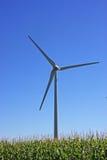 Mulino a vento dell'energia pulita immagine stock libera da diritti