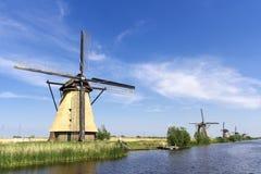 Mulino a vento dell'olandese di Pitoresque Immagine Stock Libera da Diritti