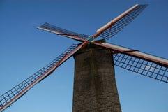 Mulino a vento di Bruges immagini stock libere da diritti