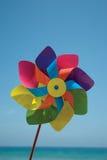 Mulino a vento di carta Fotografia Stock Libera da Diritti