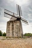 Mulino a vento di Daudet - Fontvieille - Alpilles - la Provenza - la Francia Fotografia Stock