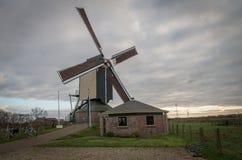 Mulino a vento di Duthc in Valburg (Paesi Bassi Immagine Stock Libera da Diritti