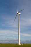 Mulino a vento di energia fotografia stock libera da diritti