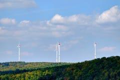 Mulino a vento di energia in Germania immagine stock libera da diritti