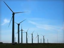Mulino a vento di Eolic Fotografia Stock Libera da Diritti