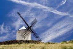 Mulino a vento di estate Immagine Stock Libera da Diritti
