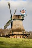 Mulino a vento di Hollingstedter Fotografie Stock