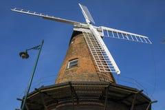 Mulino a vento di Rayleigh in Essex fotografia stock libera da diritti