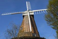 Mulino a vento di Rayleigh in Essex fotografia stock