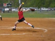 Mulino a vento di softball immagine stock libera da diritti