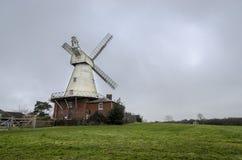 Mulino a vento di Willesborough, Ashford, Risonanza, Regno Unito Immagini Stock