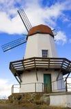 Mulino a vento esposto all'aria Fotografia Stock Libera da Diritti