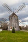 Mulino a vento Hampton New York orientale di Natale Fotografia Stock Libera da Diritti