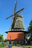 Mulino a vento in Harderwijk Immagini Stock