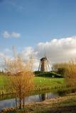 Mulino a vento, Hoofddorp, Olanda immagine stock libera da diritti
