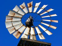 Mulino a vento il febbraio 2908 - 0274-R1G1B1 Immagini Stock Libere da Diritti
