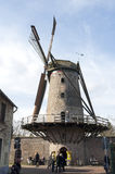 Mulino a vento Kriemhildemuhle, città Xanten, Germania Fotografie Stock