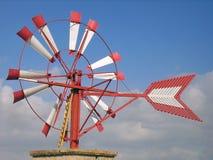 Mulino a vento in Majorca Fotografie Stock