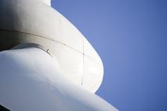Mulino a vento moderno Fotografia Stock Libera da Diritti