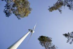 Mulino a vento moderno Fotografia Stock